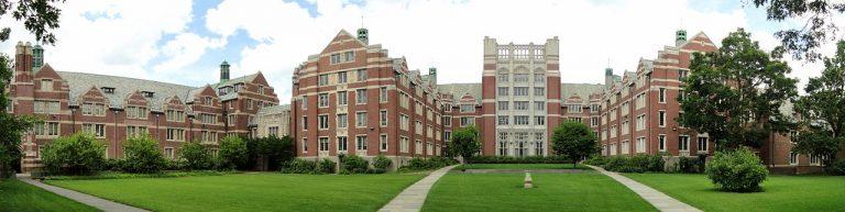 Wellesley College panorama